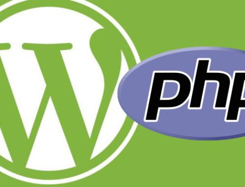 Wie stelle ich meine PHP Version für WordPress korrekt um?